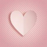 Kaartwensen voor Valentijnskaartendag Royalty-vrije Stock Afbeelding
