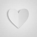 Kaartwensen voor Valentijnskaartendag Stock Foto