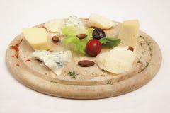 Kaas, Badem stock afbeeldingen