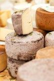 Kaas bij een markt Stock Fotografie