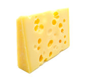 Kaas die op wit wordt geïsoleerdg Royalty-vrije Stock Afbeeldingen