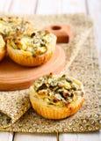 Kaas en spinaziepastei Royalty-vrije Stock Afbeelding