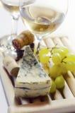 Kaas en wijn Royalty-vrije Stock Afbeeldingen
