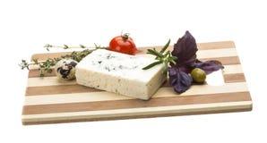 Kaas met vorm Stock Foto's