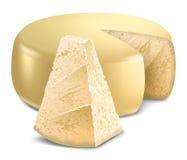 Kaas parmesan stock illustratie