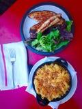 Kaasachtige Lunch Stock Foto's