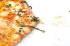Kaaspizza Opgeheven Plak Royalty-vrije Stock Afbeeldingen