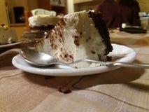 Kaastaart met gastronomische chocolade Stock Fotografie