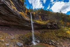 Kaaterskill cade montagna di Catskills Immagini Stock Libere da Diritti
