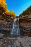 Kaaterskill cai montanha de Catskills Fotos de Stock Royalty Free