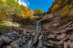 Kaaterskill cai montanha de Catskills Imagens de Stock Royalty Free