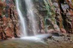 Kaaterskill cai nas montanhas de Catskill, NY Fotos de Stock Royalty Free