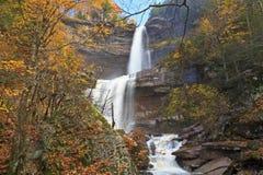 Kaaterskill Falls in Autumn Stock Photos