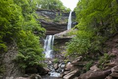 Kaaterskill Falls royalty free stock photos