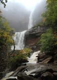 Kaaterskill Falls in Fog Royalty Free Stock Image