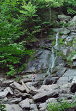 Kaaterskill Falls New York State USA Royalty Free Stock Image