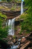 Kaaterskill nedgångar, i de Catskill bergen, New York fotografering för bildbyråer