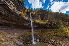 Kaaterskill tombe montagne de Catskills Images libres de droits