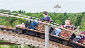 KAATSHEUVEL/THE NETHERLANDS - MAY 23th, 2014: Efteling park ride Royalty Free Stock Image