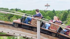 KAATSHEUVEL/THE NETHERLANDS - MAY 23th, 2014: Efteling park ride royalty free stock image