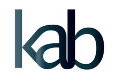 KAB Logo Design. Corporate Template stock illustration