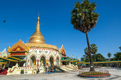 Kaba Aye Pagoda in Rangoon, Myanmar Stock Photo