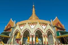 Kaba Aye Pagoda in Rangoon, Myanmar Royalty Free Stock Photo