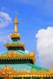 Kaba Aye Pagoda, Yangon, Myanmar Fotografering för Bildbyråer