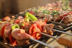 Kabab Royalty-vrije Stock Afbeeldingen