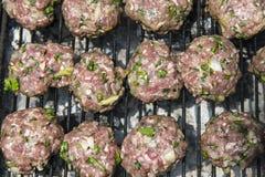 Kabab op de grill royalty-vrije stock foto's