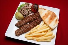 kabab shish fotografia stock