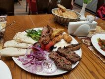Kabab turc de nourriture image libre de droits