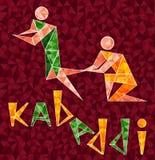 Kabaddi 01 ilustração stock
