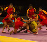 Kabaddi defence Anti Royalty Free Stock Photos