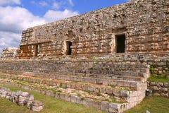 Kabah在尤加坦,墨西哥 免版税库存图片