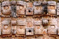 Kabah在尤加坦,墨西哥 免版税库存照片
