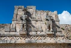 Kabah,玛雅人考古学站点, Puuc路,尤加坦,墨西哥 库存图片