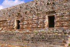Kabah i Yucatan, Mexico Arkivbilder