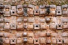 Kabah i Yucatan, Mexico Arkivfoto