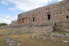 Kabah Mayan site in Mexico Stock Photos