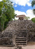 Kabah Mayan Ruins.Cityscape in a sunny day Stock Photos