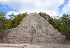 Kabah Mayaruinen in Mexiko Stockbild