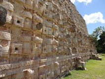 Kabah Ruins Architecture Detail Stock Image