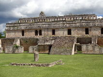 Kabah Ruins Architecture. Photo of kabah architecture in yucatan mexico Stock Photo