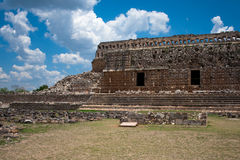 Kabah ruta puuc temple. In mexico Royalty Free Stock Photos