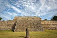 Kabah, sito archeologico di maya, regione di Puuc, Merida, Yucatan, Messico fotografie stock