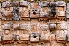 Kabah in Yucatan, Mexico. Royalty Free Stock Photo