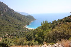 Kabak doliny plaża Fotografia Royalty Free