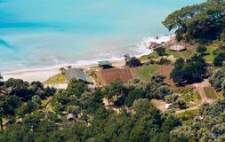 Kabak strand Arkivbilder