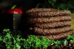 Kabanos das salsichas fotografia de stock royalty free